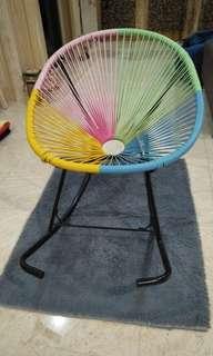 Colourful Rocking Chair