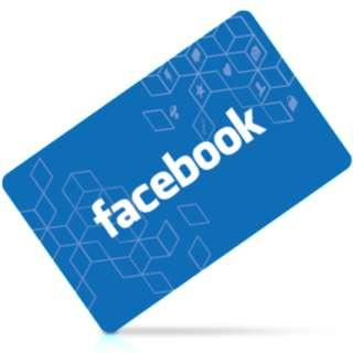 🚚 Facebook Gift Card [US]