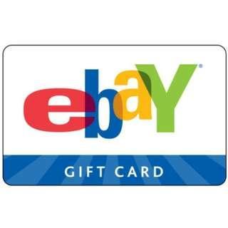 🚚 eBay Gift Card [US]