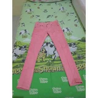 Preloved Size S Celana Panjang Wanita merk Princess Pink