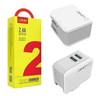 LDNIO DL-A2203 2.4A TRAVEL CHARGER