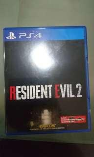 WTS RE2 PS4