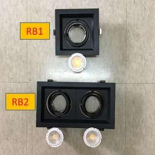 LED Downlight Black