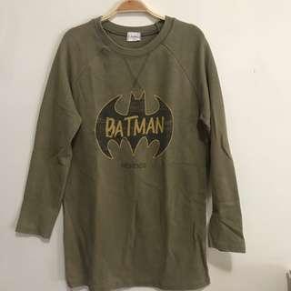 🚚 蝙蝠俠墨綠長袖