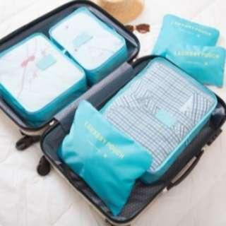 Luggage Travel Bag Organizer [6 pieces of different sizes]