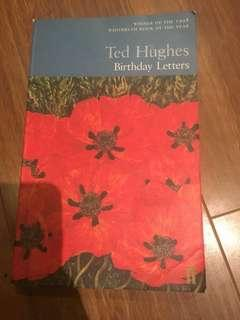 Birthday Letters - Ted Hughes poetry