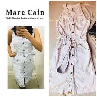 Marc Cain Button-Down soft denim dress
