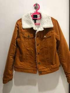 Forever 21 Brown Caramel Winter Jacket