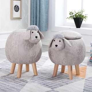 🚚 Eames Baby Sheep Animal Storage Ottoman Pouffe Footstool