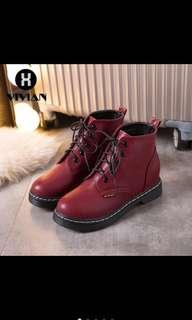 Red/Maroon boots