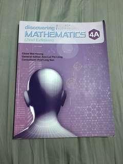 Discovering Mathematics 4A Sec 4 E Math