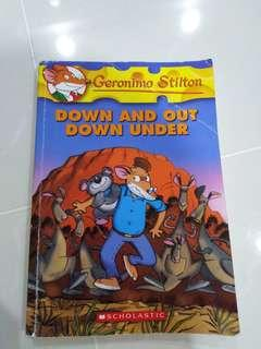 🚚 Geronimo Stilton - Down And Out Down Under