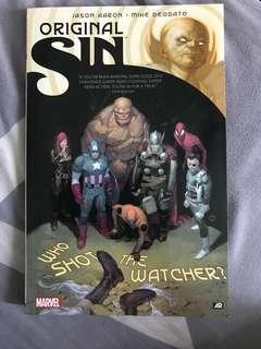 Marvel comics original sin