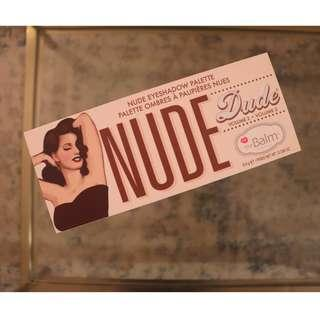 TheBalm Nude Dude Volume 2 Nude Eyeshadow Palette 12 Shadows Brand NEW