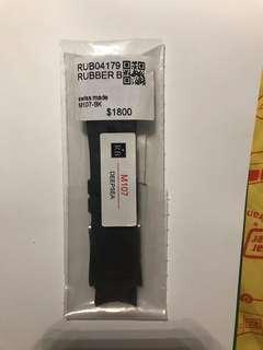 Rubber B原裝膠表帶,比rolex Deepsea,原價1800,現超低價1280