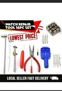 Hot Sales Watch Repair Tool Kit 16-Piece set