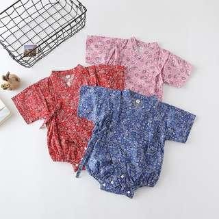 🚚 Little Fishy Print Kimono for Baby Girl/Boy (NCR 042)