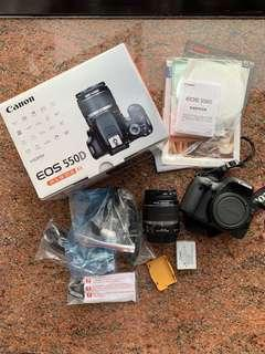 Canon 550D Kit Set