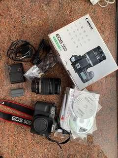 Canon 50D, 18-200 kit set