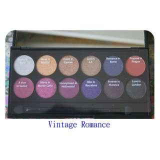 【清貨】 【英國】Sleek i-Divine Palette 12色礦物眼影 Vintage Romance, Original Eye shadow