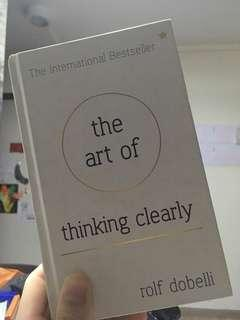 🚚 The art of thinking clearly.