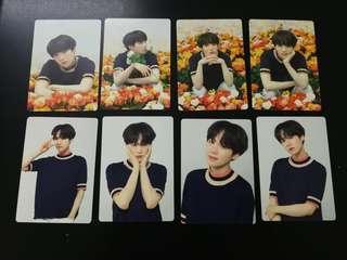 BTS Suga Full Set Love Yourself Japan Mini Photocard MINI PC