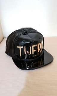 🚚 HATer Snapback。shiny gold TWERK 潮帽