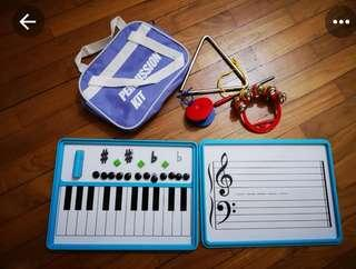 🚚 Yamaha Percussion and Magnetic Board Set