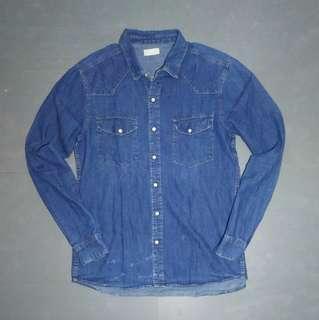 Kemeja Jeans Andshirt
