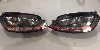 VW Golf 7/ 7.5 LED/ DRL headlamp