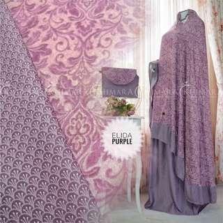 Mukena Elida Purple