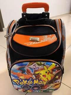 ZigZag Pokémon Trolley School Bag
