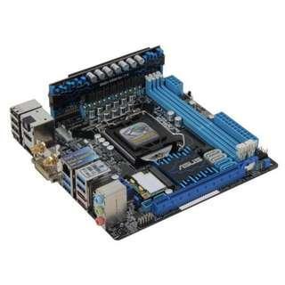 Intel i5-3670 + ASUS P8Z77-I + 8GB RAM