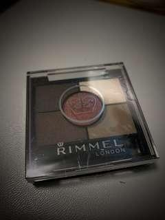 RIMMEL Eye Shadow 022 BRIXTON BROWN