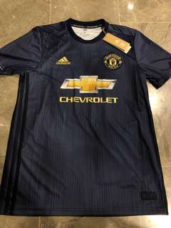 50f7cd0773e WTS 2018 Manchester United 3rd Jersey with Fred Nameset Size M