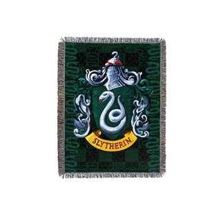 🔥Slytherin Woven Tapestry Blanket (Harry Potter)