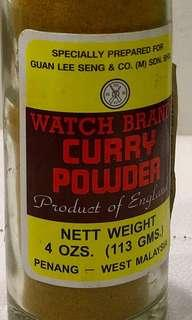 Watch Brand Curry Powder (Product of England)
