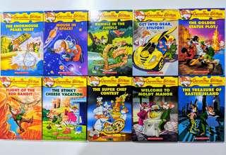 🚚 [brand new titles] geronimo stilton reader book set of 10 books each. 6 different sets.