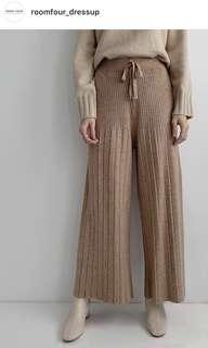 Room4 超柔軟針織褲