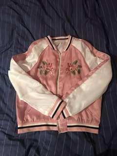 刺繡棒球外套 Embroidery baseball jacket