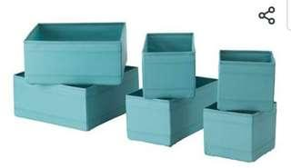 Ikea Skubb Box Organizer