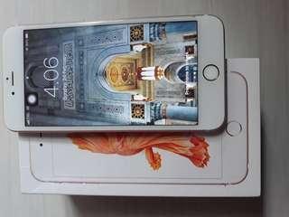 Iphone 6s+ Rose Gold ex inter