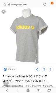 T shirt Adidas neo original size L