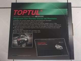 Toptul Magnetic Car Fender Cover with Tools Pocket