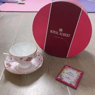 Royal Albert cup &sauces 杯碟茶具 骨瓷