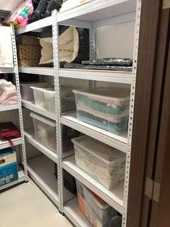 3 units - 5 Level Boltless Shelves Rack