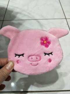 🚚 粉紅豬零錢包,全新