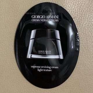 🚚 Giorgio Armani 黑曜岩新生奇蹟乳霜1ml  #2020.04