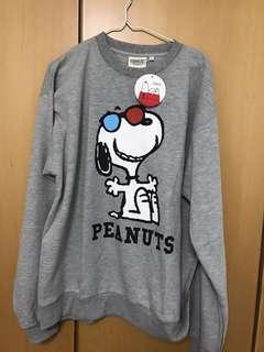 Snoopy 灰色衛衣