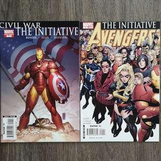 The Initiative Comics